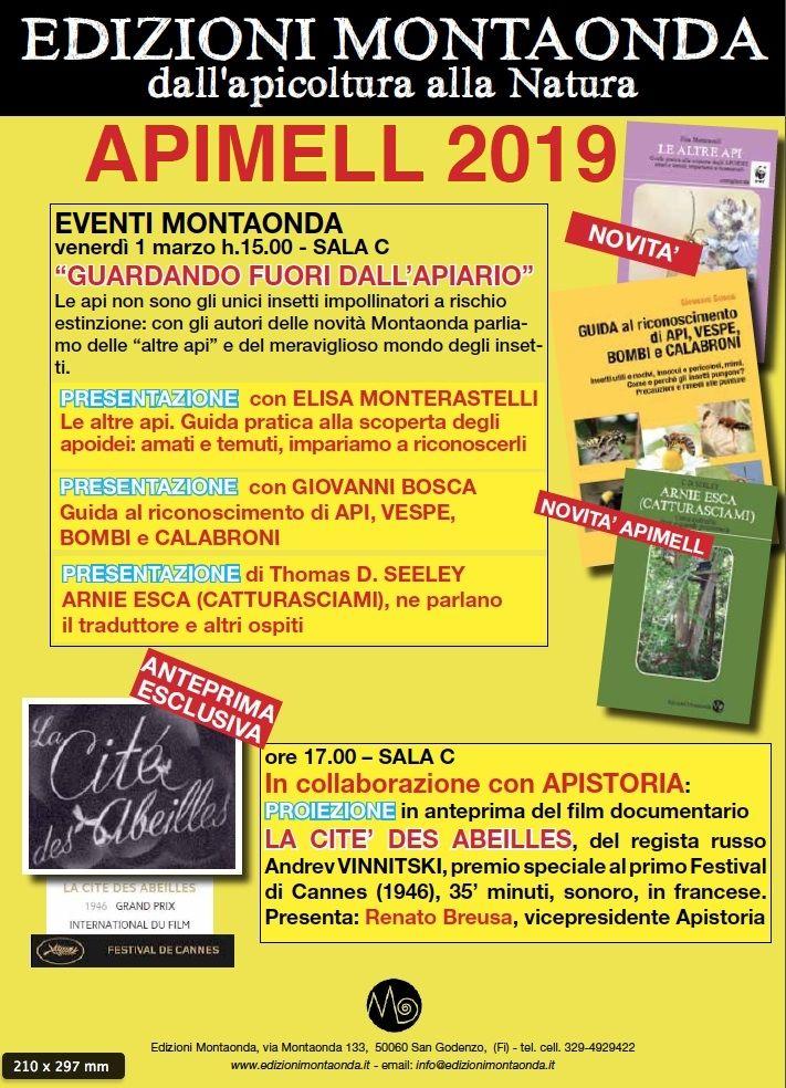 NOVITA' APIMELL 2019 – BOSCA, SEELEY e MONTERASTELLI