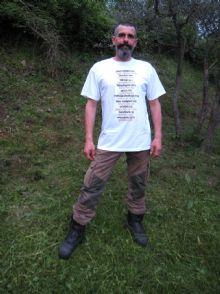 La maglietta dell'apicoltore europeo